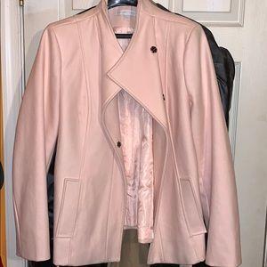New York & Co Powder Pink Pea Coat